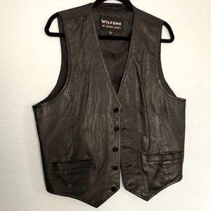VTG Wilson's• Leather Vest